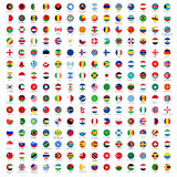 Circle Flags Of The World Stock Image