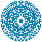 Circle floral ornament. Royalty Free Stock Images