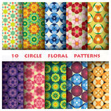 Circle floral Pattern Style Stock Photography