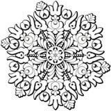 Circle folk ornament Stock Photo