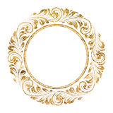 Circle frame Stock Images