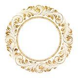 Circle frame Stock Images