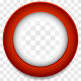 Circle frame icon. Abstract lens element. Colorful icon background vector illustration
