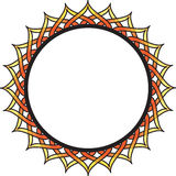 Circle Frame. Frame for text or photos Stock Image