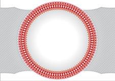 Circle frame for text or photos Royalty Free Stock Photos