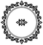 Circle frame of Thai pattern Stock Images