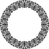 Circle frame Royalty Free Stock Image