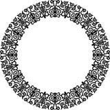 Circle frame Royalty Free Stock Image