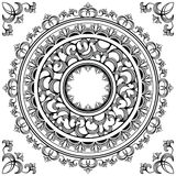 Circle frames Royalty Free Stock Photos