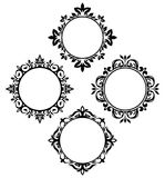 Circle frames Royalty Free Stock Images