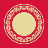 Circle frames of Chinese Style. Design element Stock Photography