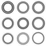 Circle Frames Royalty Free Stock Images