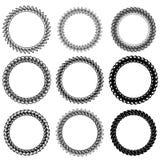 Circle Frames Stock Image