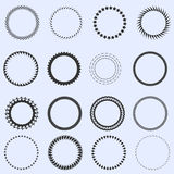 Circle frames stock images