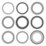 Circle Frames Royalty Free Stock Image