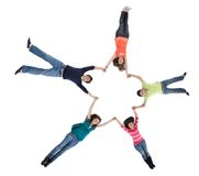 Circle of friends Royalty Free Stock Photos