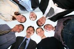 Сircle friends Stock Image