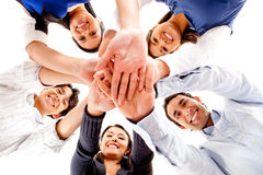 Circle of friends Stock Image