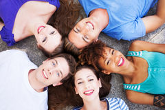 Circle of friends Royalty Free Stock Images