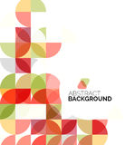 Circle geometric abstract background Stock Photos