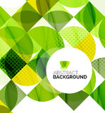 Circle geometric abstract background Royalty Free Stock Photography
