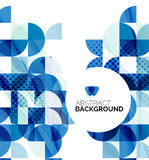 Circle geometric abstract background Royalty Free Stock Photo
