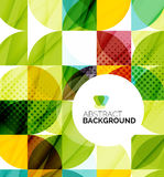 Circle geometric abstract background Royalty Free Stock Images