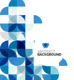 Circle geometric abstract background Royalty Free Stock Image