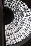 The Circle glass roof. Modern design Stock Photography