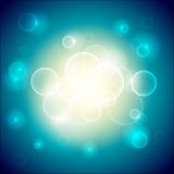 Circle Glow Background Royalty Free Stock Photos