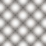 Circle gradient grey pattern background. Vector Stock Photo