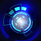 Circle graphic technology Stock Images