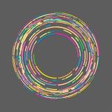 Circle Graphics art Stock Image