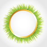 Circle With Grass Stock Images