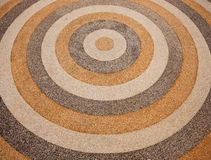 Circle gravel stone Stock Photography