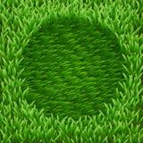 Circle on green grass Stock Photo