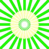 Circle from green pencils. Stock Photography