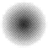 Circle halftone. Abstract background for your design stock illustration
