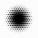 Circle halftone. Abstract halftone background. Vector illustration. Black circles. Abstract halftone background with Black circles vector illustration
