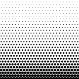 Circle Halftone Element, Monochrome Abstract Graphic. Ready for. DTP, Prepress or Generic Concepts Royalty Free Stock Photo