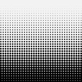 Circle Halftone Element, Monochrome Abstract Graphic. Ready for. DTP, Prepress or Generic Concepts Stock Image