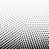 Circle Halftone Element, Monochrome Abstract Graphic. Ready for. DTP, Prepress or Generic Concepts Stock Images