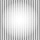 Circle halftone pattern / texture. Monochrome halftone dots. royalty free illustration