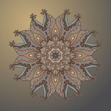 Circle hand drawn arabic style Ornament Royalty Free Stock Photos