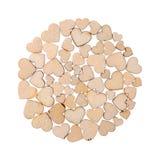 Circle of hearts Stock Image