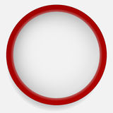 Circle icon with blank space. Blank circle design element set. S Stock Image