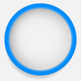 Circle icon with blank space. Blank circle design element set. S Stock Photography