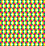Circle illusion pattern graphic design Royalty Free Stock Photo