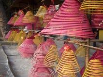 Circle incense Royalty Free Stock Photo