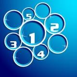 Circle info-graphic Stock Image